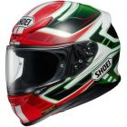 SHOEI NXR VALKYRIE TC4 RED/GREEN