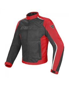 DAINESE HYDRA FLUX D-DRY JACKET BLACK/RED/WHITE