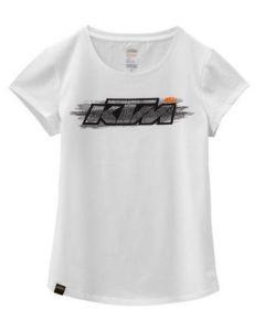 KTM GIRLS FADED TEE