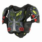 ALPINESTARS A-10 FULL CHEST PROTECTOR BLACK/RED/ANTHRACITE