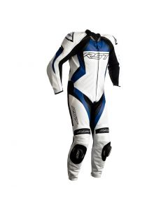 RST TRACTECH EVO 4 1PC SUIT WHITE/BLUE