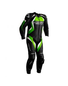 RST TRACTECH EVO 4 1PC SUIT BLACK/GREEN