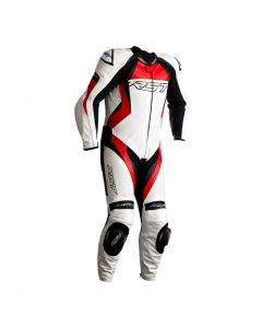 RST TRACTECH EVO 4 1PC SUIT WHITE/RED
