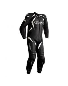 RST TRACTECH EVO 4 1PC SUIT BLACK/WHITE
