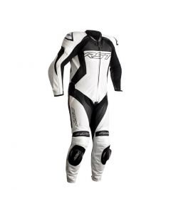 RST TRACTECH EVO 4 1PC SUIT WHITE/BLACK