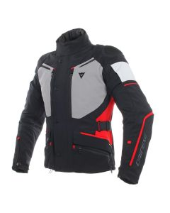 DAINESE CARVE MASTER 2 GORE-TEX JACKET BLACK/GREY/RED