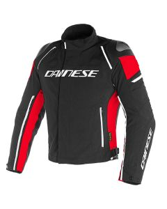 DAINESE RACING 3 D-DRY JACKET BLACK/RED