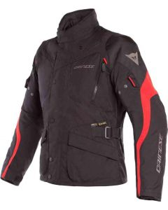 DAINESE TEMPEST 2 D-DRY JACKET BLACK/RED
