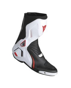 DAINESE COURSE D1 OUT BOOT BLACK/WHITE/LAVA-RED