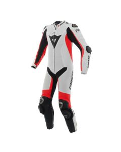 DAINESE D-AIR MISANO SUIT WHITE/FLUO RED