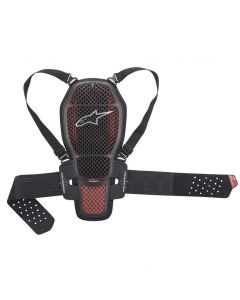 ALPINESTARS NUCLEON KR-1 CELL BACK PROTECTOR RED/BLACK