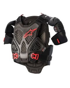 ALPINESTARS A-6 CHEST PROTECTOR BLACK/ANTHRACITE