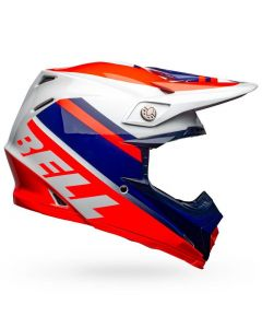 BELL MOTO-9 MIPS PROPHECY GLOSS INFRARED/NAVY/GREY