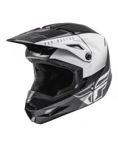 FLY 2021 KINETIC YOUTH STRAIGHT EDGE WHITE/BLACK