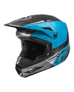 FLY 2021 KINETIC YOUTH STRAIGHT EDGE BLUE/GREY/BLACK