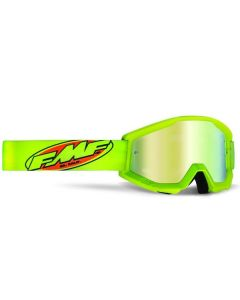 FMF POWERCORE GOGGLE YELLOW - MIRROR GOLD LENS