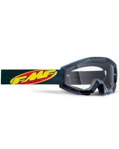 FMF POWERCORE YOUTH GOGGLE BLACK - CLEAR LENS