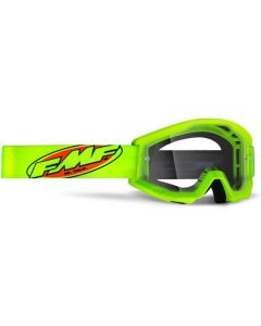 FMF POWERCORE YOUTH GOGGLE YELLOW - CLEAR LENS