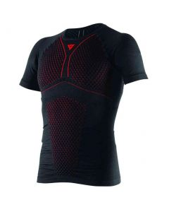 DAINESE D-CORE THERMO TEE SHORT SLEEVE BLACK/RED