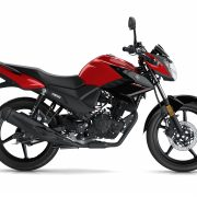 Yamaha YS125 Red Side On